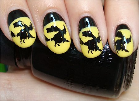 halloween nails 7