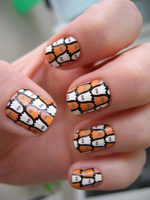 halloween nails 8