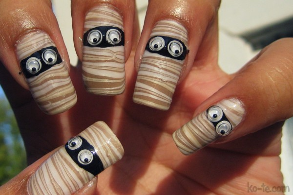 halloween nails 9