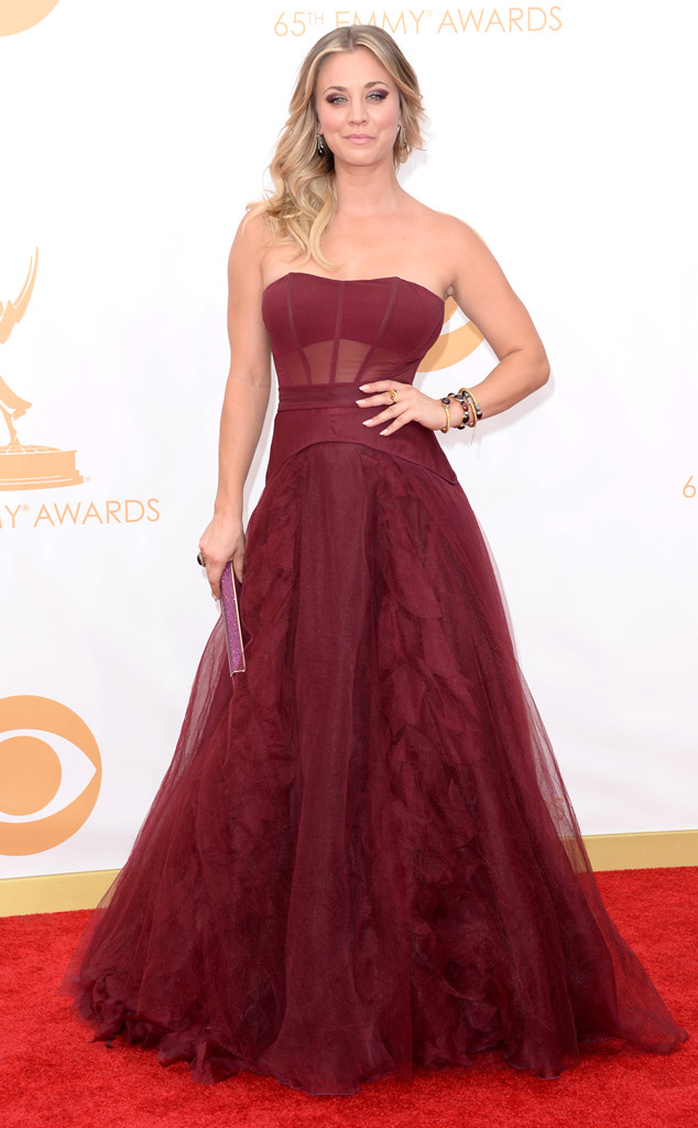 Kaley-Cuoco 65th emmy awards