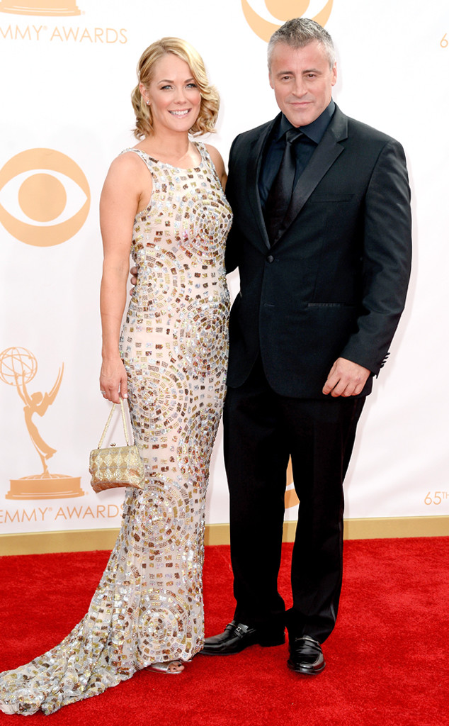 Matt-LeBlanc-Andrea-Anders 65th emmy awards