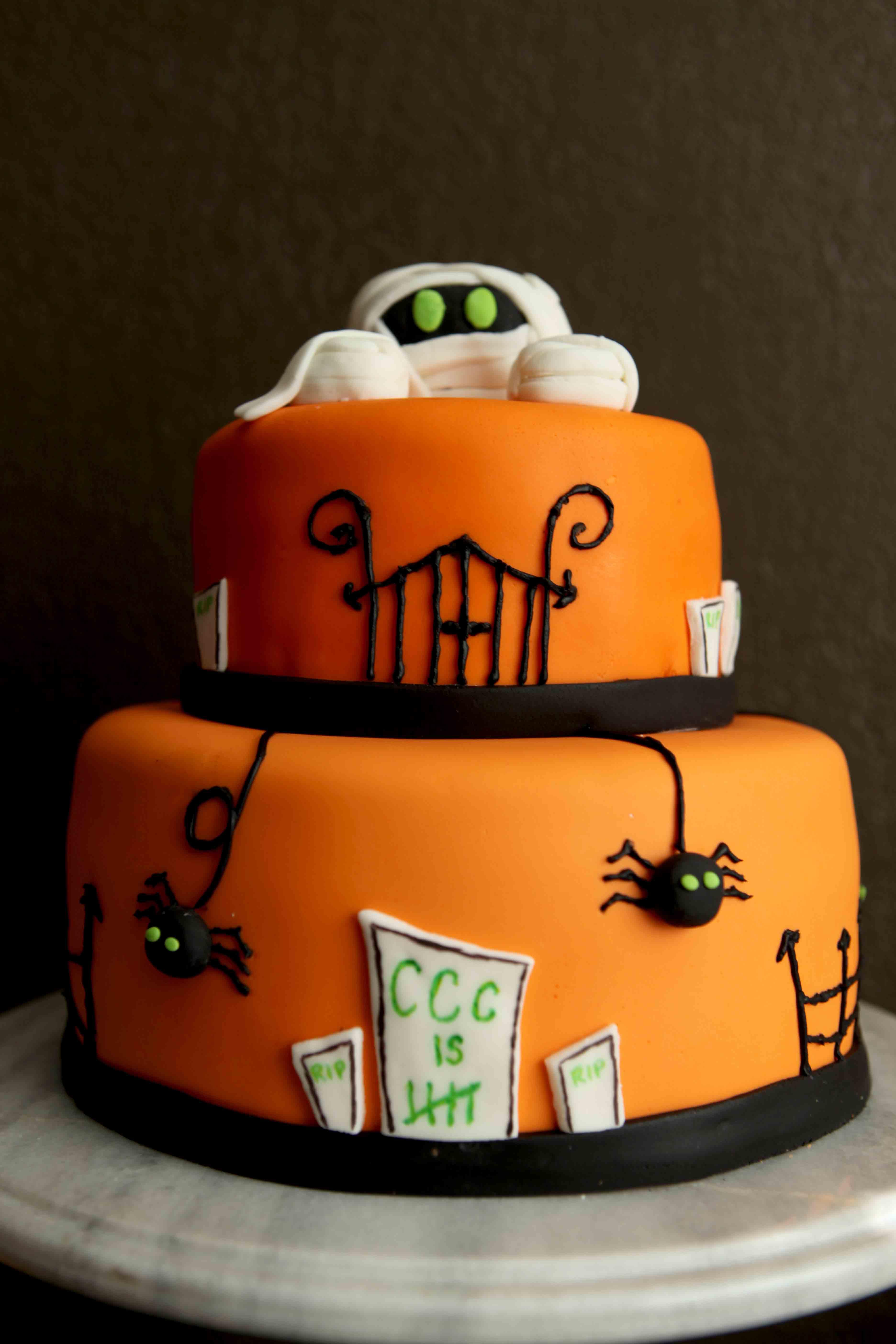 Halloween Birthday Cakes