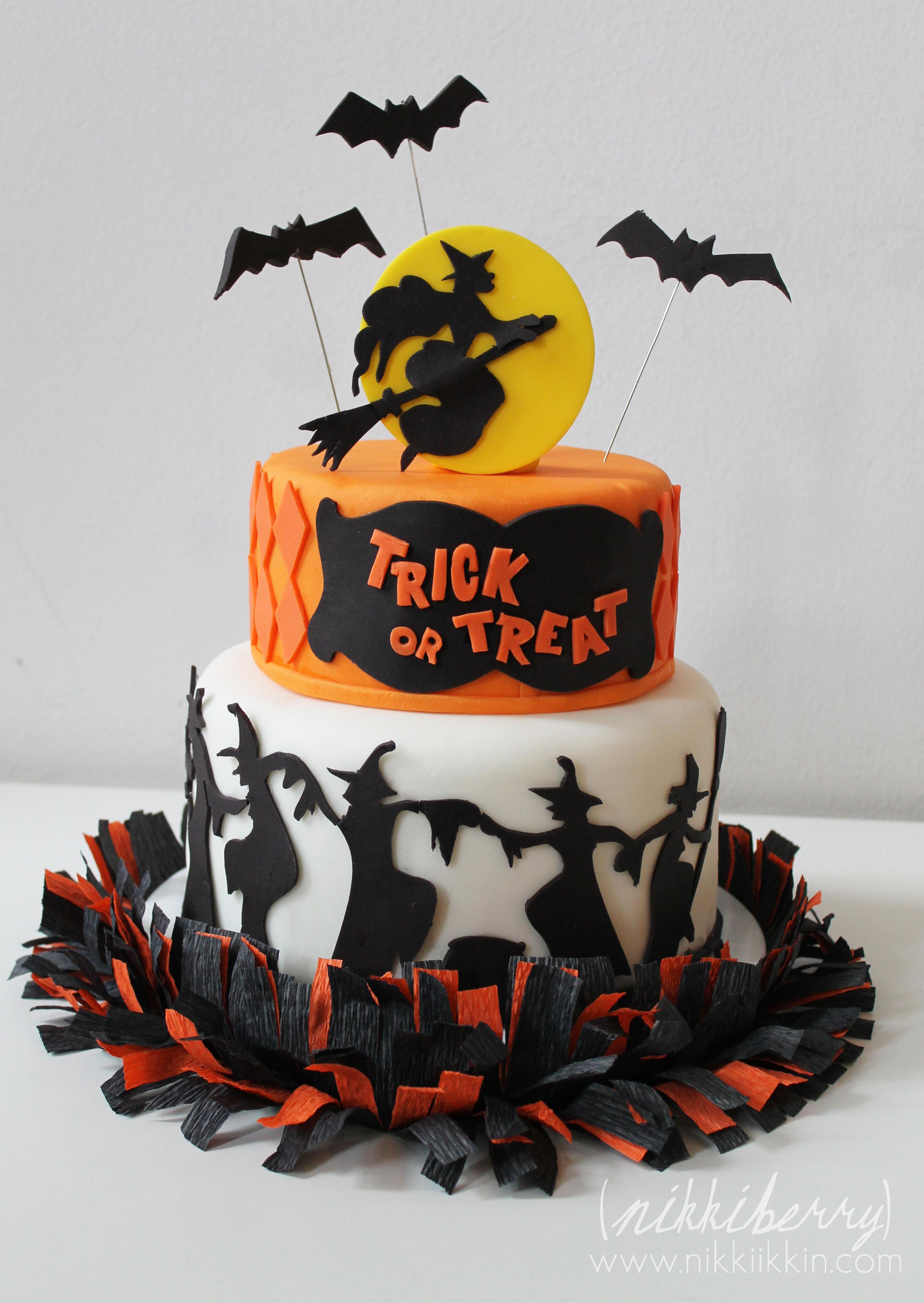 Halloween Mostruosamente Cake