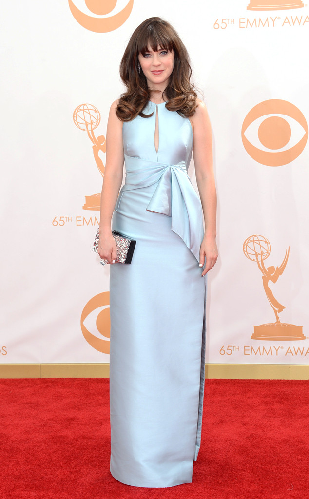 Zooey-Deschanel 65 th emmy awards