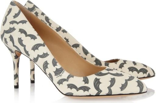 charlotte olympia halloween 2013 scarpe pipistrello
