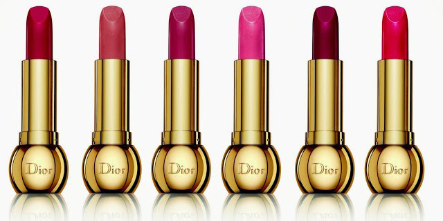 Dior-Golden-Winter-Collection natale 2013 rossetti