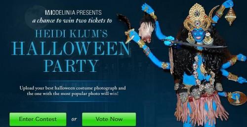 heidi klum party halloween