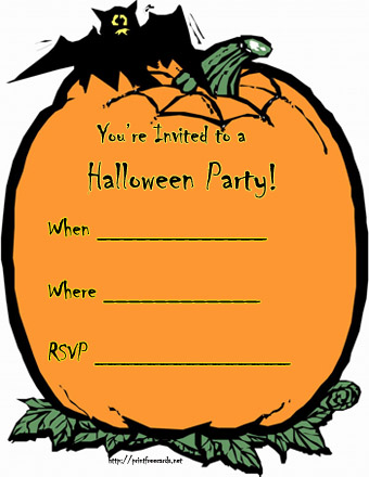 invito halloween 2