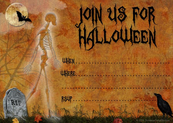 invito halloween 3