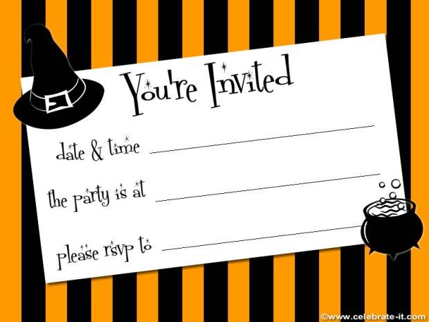 invito halloween 5