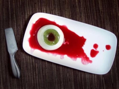occhio spaventoso halloween