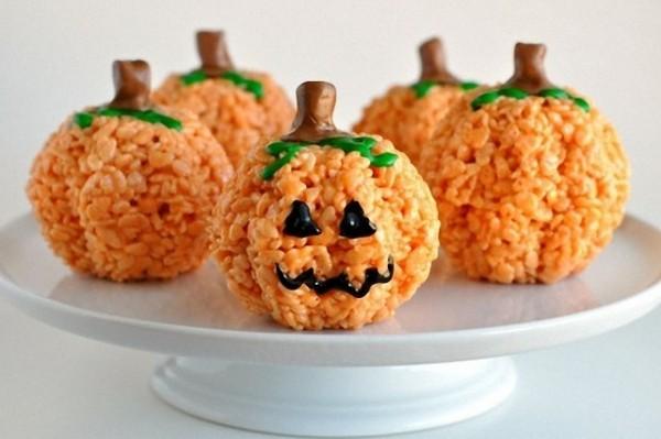zucchettine di riso halloween