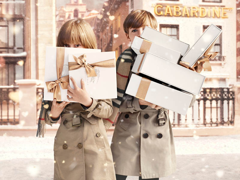 burberry with love natale 2013