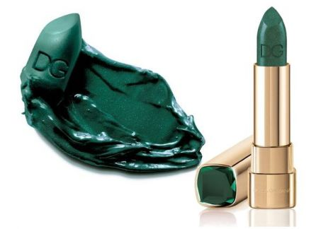 dolce e gabbana collezione natale 2013 lipstick smeraldo