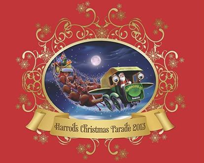 Harrods-Christmas-Parade-2013