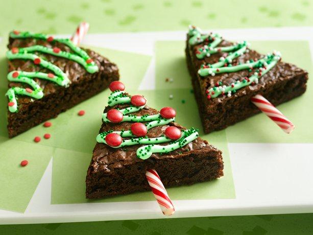 chrstmas brownie
