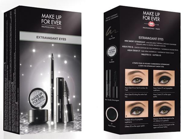 kit extravagant eyes midinight glow collection 2013