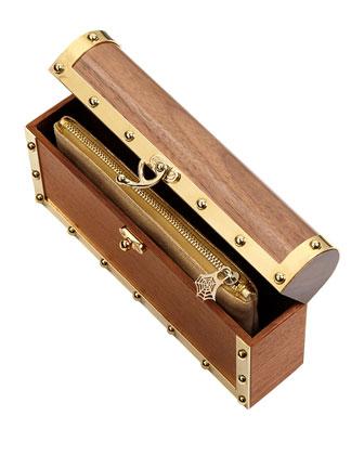 charlotte olympia clutch scrigno del tesoro