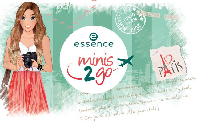 Essence Minis 2 Go collezione 2014