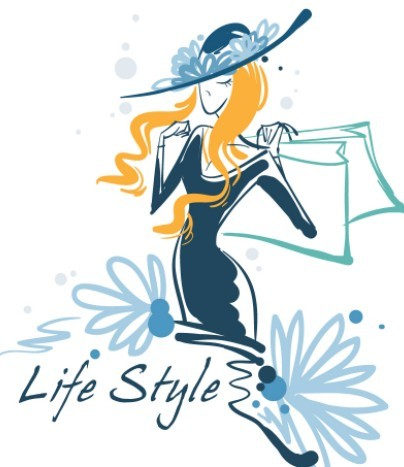 Fashion-Hand-Drawn-Vector-Spring-Girl-02