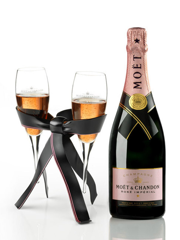 Moet Chandon Tie for Two San Valentino 2014