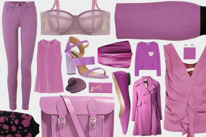 outifit radiant orchid