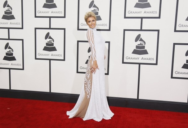 Paris Hilton grammys awards 2014