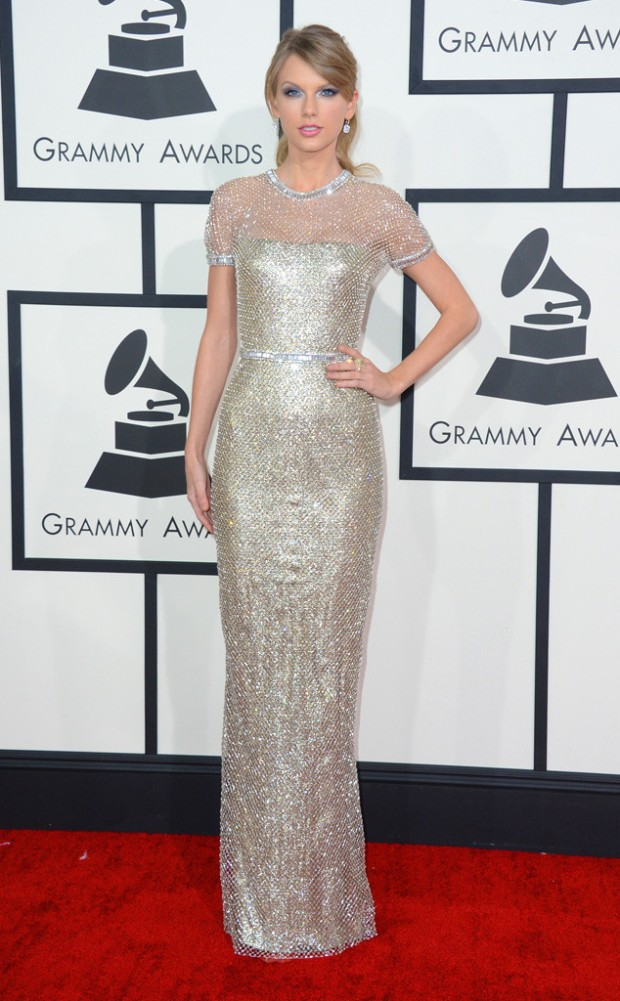 taylor swit grammy awards 2014 in gucci
