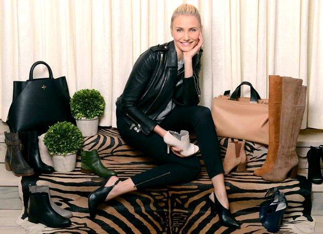 cameron-diaz collezione scarpe 2014