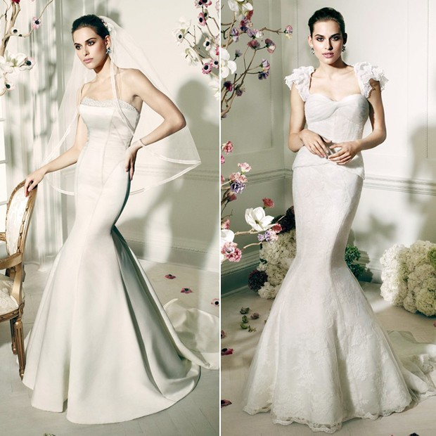 zac posen wedding dress collection 2014