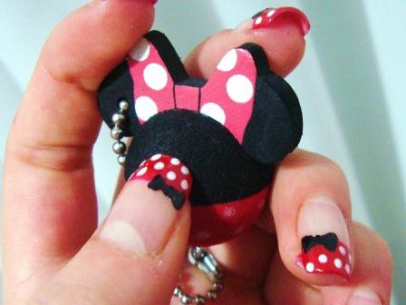 nail-art-minnie