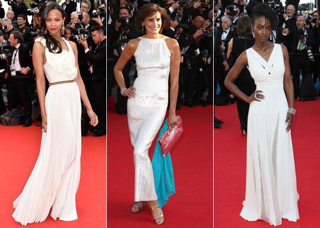 abiti bianchi red carpet
