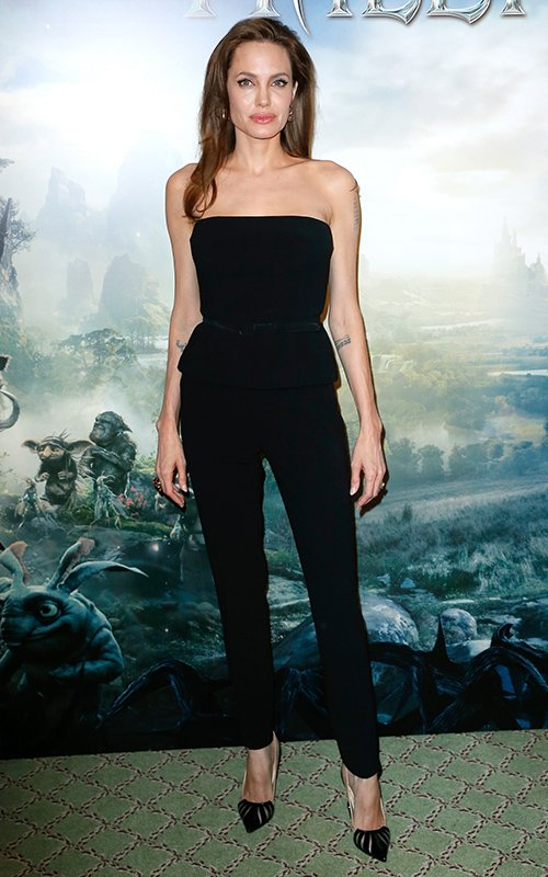 angelina jolie maleficent shoes black
