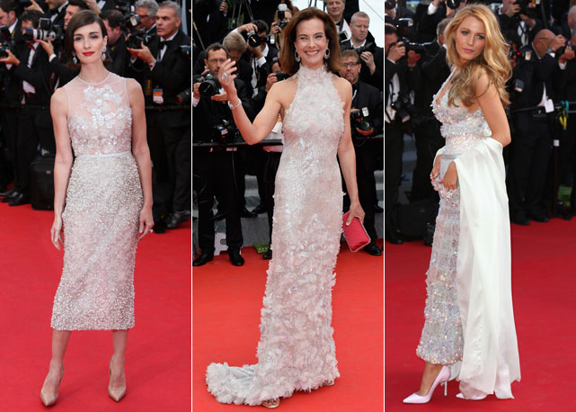 blake lively red crpet cannes 2014