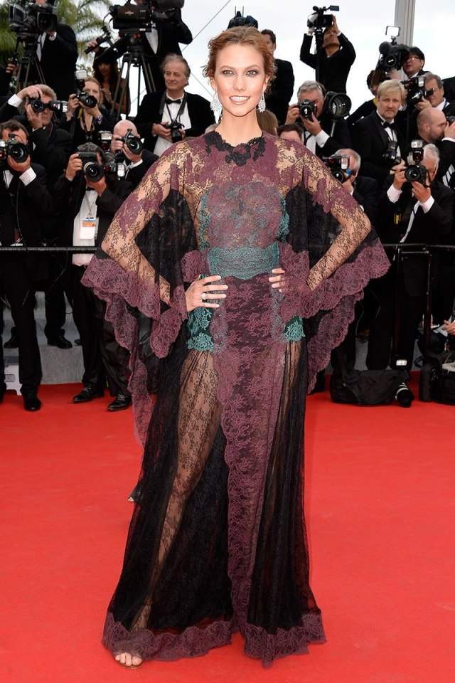 karlie kloss in valentino couture
