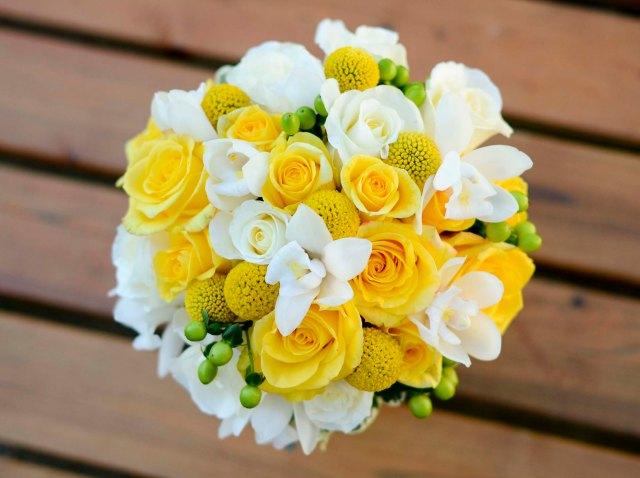 bouquet giallo 3
