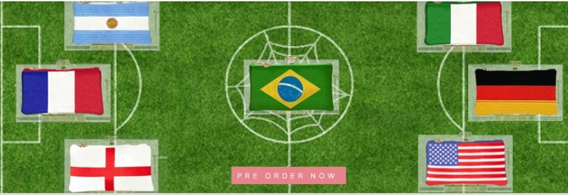 charlotte olympia clutch fifa world cup 2014