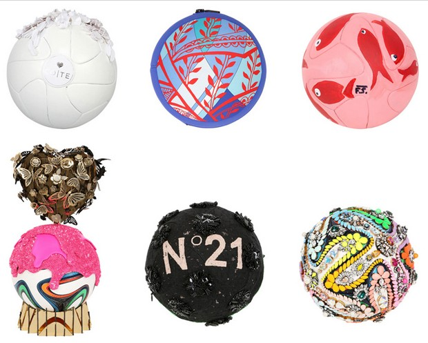 palloni griffati mondili azione benefica
