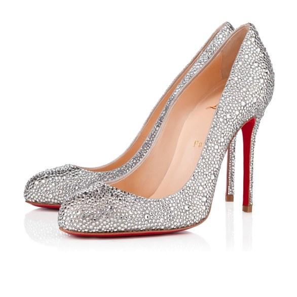 scarpe sposa louboutin argento 2