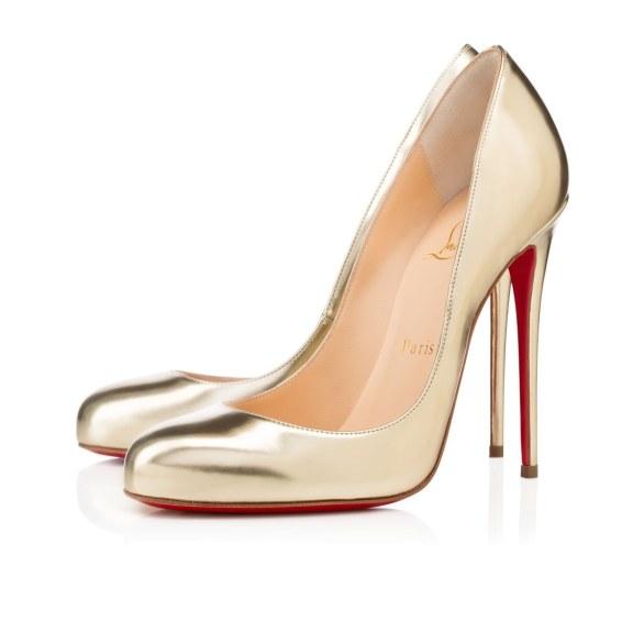 scarpe sposa louboutin argento
