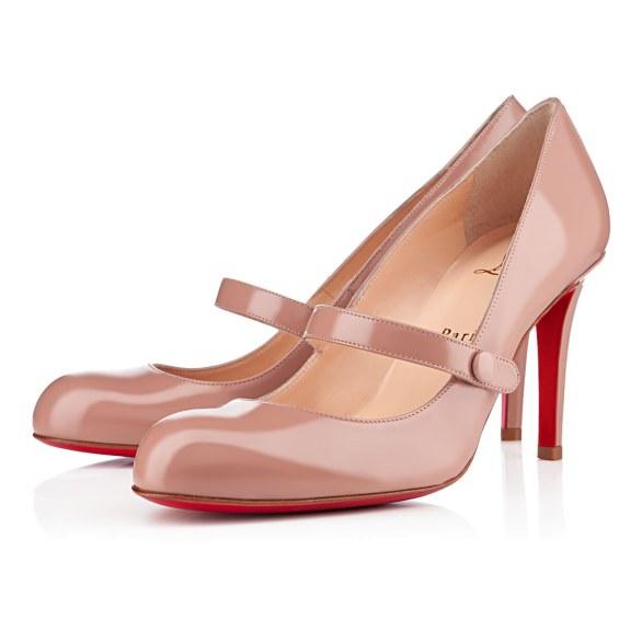 scarpe sposa louboutin nude 3