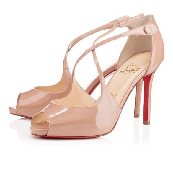 scarpe sposa louboutin nude 4