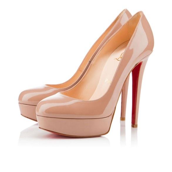 scarpe sposa louboutin nude 5