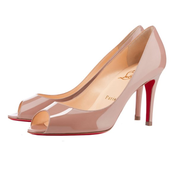 scarpe sposa louboutin nude 6