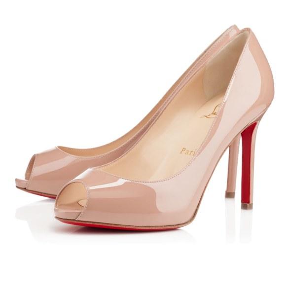 scarpe sposa louboutin nude 8