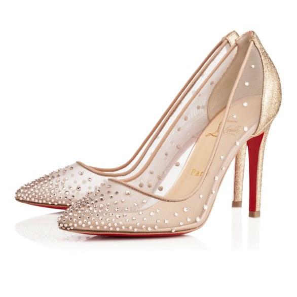 scarpe sposa louboutin oro 2