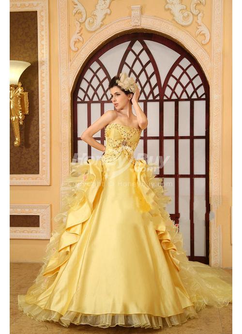 sposa in giallo