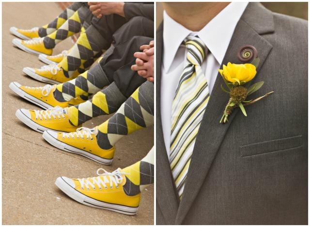 sposo in giallo