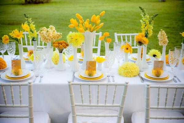 wedding location yellow