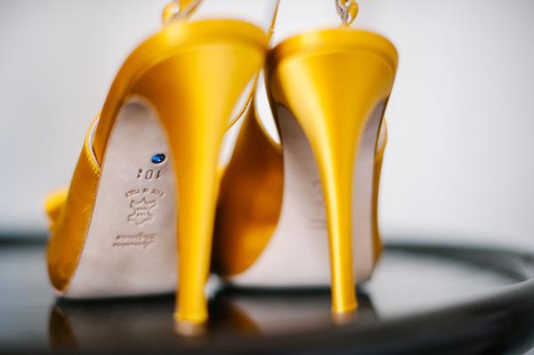 wedding shoes yellow 2